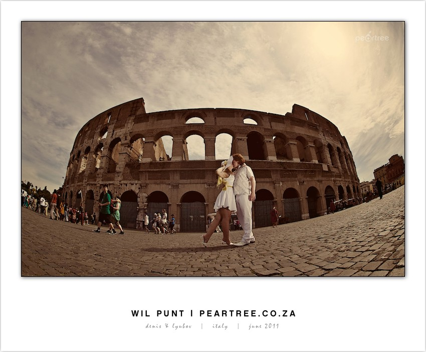 Shoot 1 of 4 - Pre-Wedding Shoot | Rome, Italy