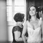 bride dress her wedding dress