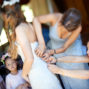 Planning your wedding at Sierra Lago, Mascotas - bride and dress