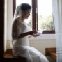ortugese bride reading letter