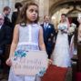 little girls announcing the bride
