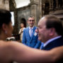bride hugs her dad