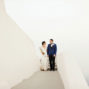 best elopement photo in santa irene chapel santorini