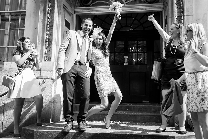 Chelsea Register Office wedding photographer Douglas Fry