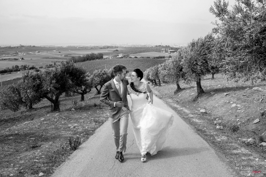 black and white wedding photos in Sicily
