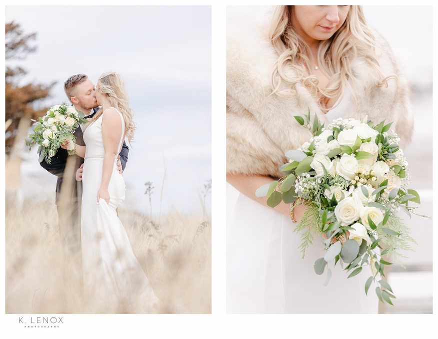 Bright and Airy Wedding Photo taken by K. Lenox Photography